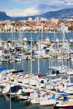 City of Split Harbour Stock Images