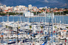 City of Split Harbour Royalty Free Stock Image