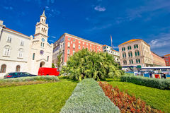 City of Split nature and architecture Royalty Free Stock Photos