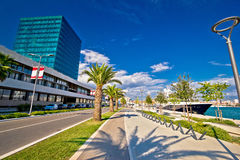 City of Split west coast view Stock Photo