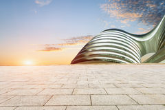 city square and abstraction of modern architecture background Royalty Free Stock Image