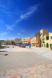 City square in El-Gouna Royalty Free Stock Photos
