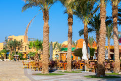 City Square. El Gouna, Egypt Royalty Free Stock Photography