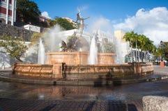 City Square Fountain Stock Photos