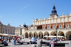 City Square with Old Market hall. Royalty Free Stock Photography