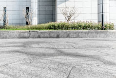 City Square pavement. Backlight City Plaza pavement marble pavement Stock Photos