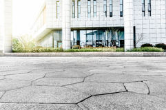 City Square pavement. Backlight City Plaza pavement marble pavement Royalty Free Stock Images