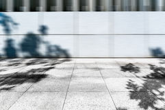 City Square pavement. Square marble pavement under the sunshine after texture Stock Image