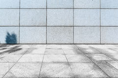 City Square pavement. Square marble pavement under the sunshine after texture Stock Photos
