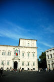 City square in Rome Royalty Free Stock Images