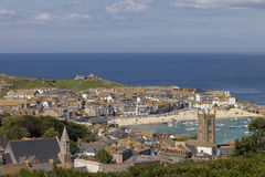 City of St. Ives on a summer's day Royalty Free Stock Images