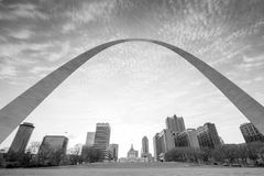 City of St. Louis skyline Stock Image