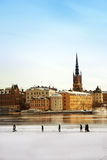 City of Stockholm Royalty Free Stock Image