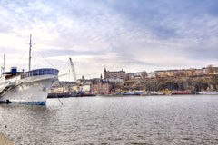 City Stockholm. HDR Royalty Free Stock Images