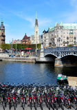 City Stockholm, Sweden, Scandinavia, Europe Royalty Free Stock Photo