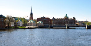 City Stockholm, Sweden, Scandinavia Royalty Free Stock Image