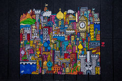 City - Street art - London Royalty Free Stock Photos
