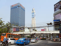 City street in Bangkok Royalty Free Stock Photo