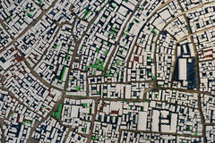 City street block model Stock Photography