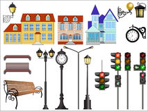 City street details Royalty Free Stock Photography