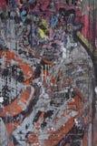 City street graffiti background. Old graffiti on textured concrete photo background Royalty Free Stock Photos