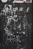 City street graffiti background Stock Photo