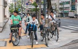 The city street of Hiroshima Royalty Free Stock Photography