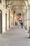 City street. Reggio Emilia Stock Image