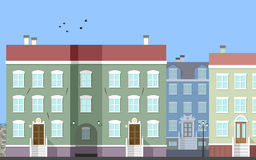 City Street Scene [2] royalty free illustration