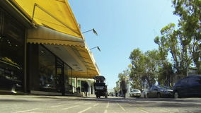 City street time-lapse stock video footage