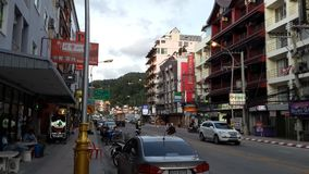 City. The street view of patong Stock Photography