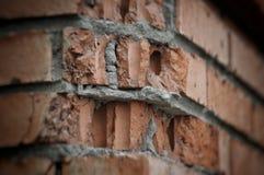 City street wall brick. Angle Royalty Free Stock Photo