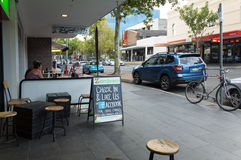 City Street in Wollongong Australia Royalty Free Stock Image