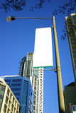City streetlight banner Stock Images