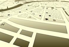 City streets vector illustration