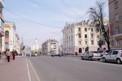 City streets. Stock Image