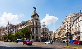 City streets. Madrid, Spain Stock Photo