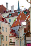 City streets. Tallinn. Estonia. Royalty Free Stock Photo