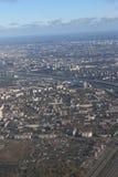 City, stretching beyond the horizon royalty free stock image