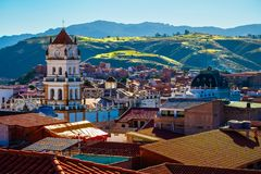 City of Sucre stock photo