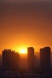 City Sunrise Stock Photography