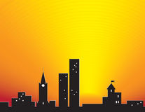 City Sunset Stock Images