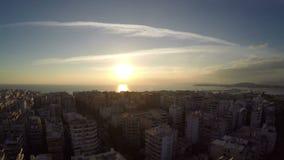 City Sunset stock video