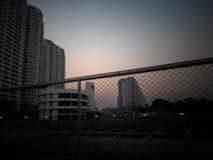 City. Sunset at Bangkok Stock Image