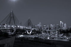 City of Sydney, Australia, at night. Royalty Free Stock Images