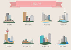 City symbol. Canada Stock Photo