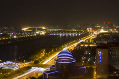 The city of Taiyuan Royalty Free Stock Images