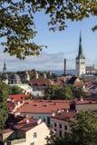 City of Tallinn - Estonia Royalty Free Stock Images