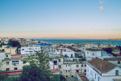 City Tanger,Marocco, 2013. Spring in Africa. View strets, nature Stock Images