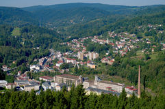 City Tanvald Stock Image